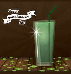 saint patricks days card vector image