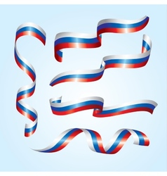 Russian flags vector image