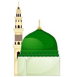 A mosque vector