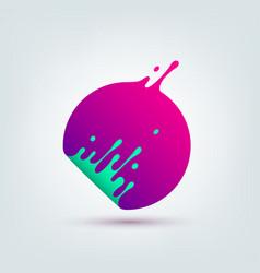 abstract colorful circle vector image