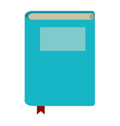 book study knowledge icon vector image
