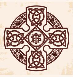 Celtic national cross vector
