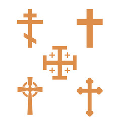 Christianity church cross religion vector