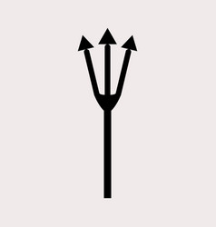 Pitchfork icon vector