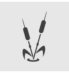 Reed icon vector