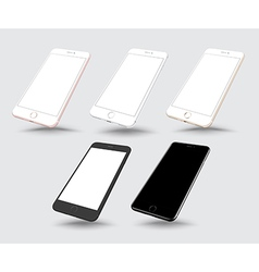 Smartphone mockups like iphon vector