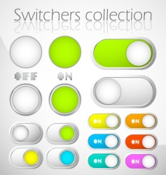 Switchers collection vector