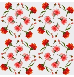 Texture of pink and red lilies elegant postcard vector