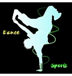 Dance Street dance vector image vector image