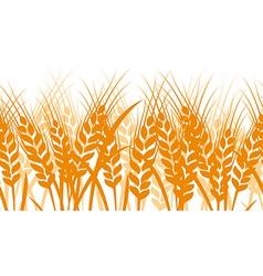 Wheat seamless vector image