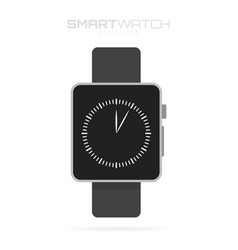 smart watch isolated on white background for your vector image vector image