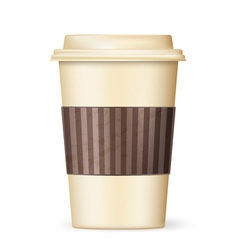 coffee cup to go 01 vector image