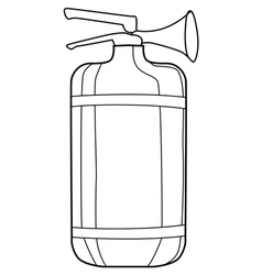 extinguisher vector image