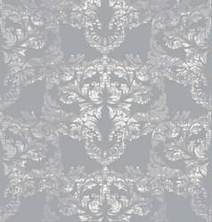 Gray classic pattern ornament decor vector