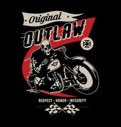 Original outlaw vector
