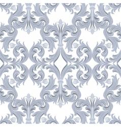 Vintage baroque luxury ornament pattern vector