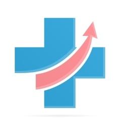 Medical pharmacy logo template vector