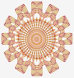 ornamental sun poster vector image