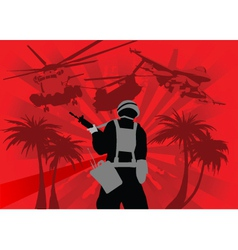 war vector image vector image