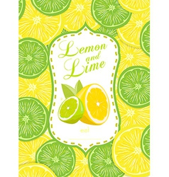 Lemon and Lime vector image