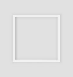 3d picture square frame design realistic square vector image