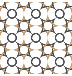 abstract seamless pattern in arabian style vector image