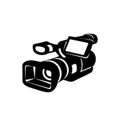 Camcorder simple icon vector image