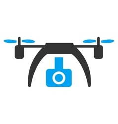 Drone Video Camera Icon vector