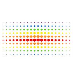 Hint spectrum halftone pattern vector