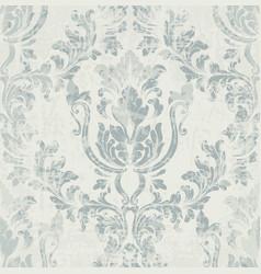 Imperial rococo pattern ornament decor vector
