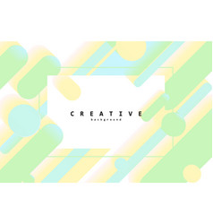 modern style abstraction vector image