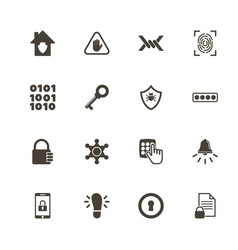 Safety - flat icons vector