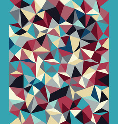 seamless background from cells triangles vector image