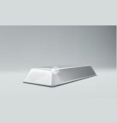 Silver Bar vector