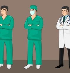 Three Doctors vector