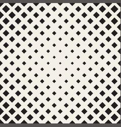 Halftone seamless geometric pattern vector
