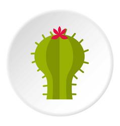 electric solar panel icon circle vector image
