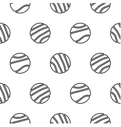 circle geo line shapes hipster seamless vector image
