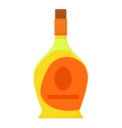 port wine icon cartoon style vector image vector image