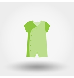 Infant Bodysuit Icon vector image vector image
