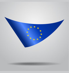 European union flag background vector
