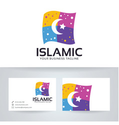 Islamic logo design vector
