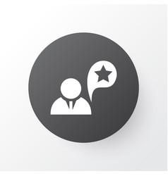 Job performance icon symbol premium quality vector
