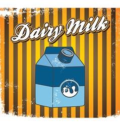 Milk design elements vector