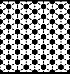 Monochrome seamless pattern ornamental tiles vector