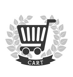 Shopping pictogram vector
