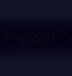 Space background starry black cosmos night sky vector