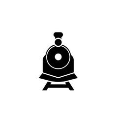 Steam train icon graphic design template vector