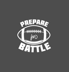 american football logo labels vector image