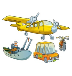 Vehicle Collection vector image vector image